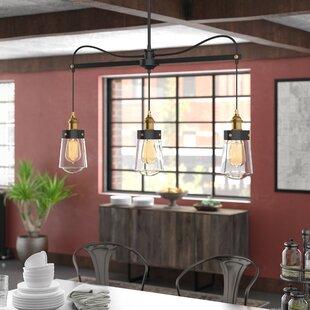 Poplar 3-Light Kitchen Island Pendant by Trent Austin Design