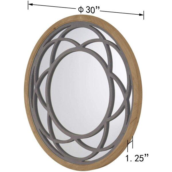 Novotny Distressed Wall Mirror