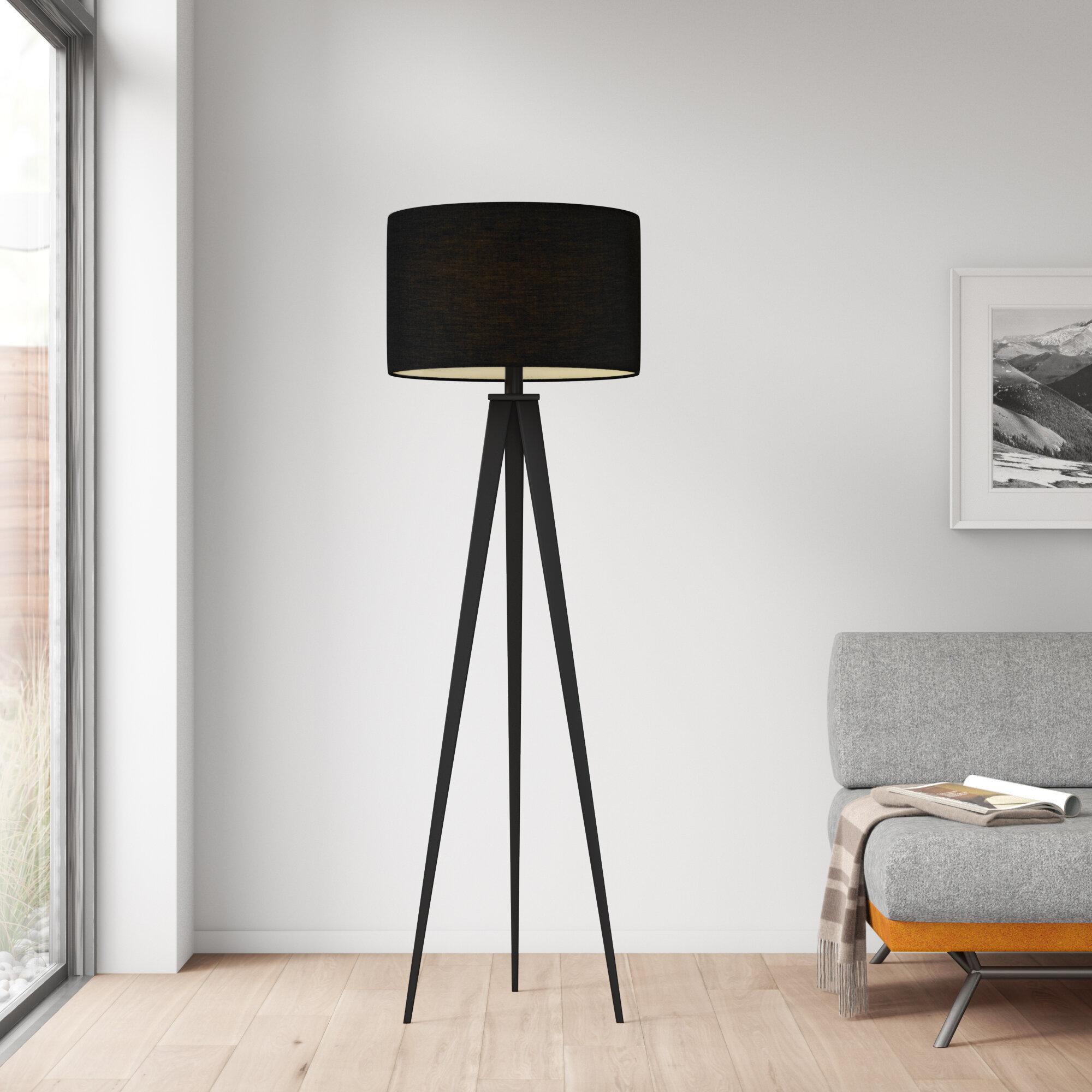 Allmodern Finton 62 Floor Lamp Reviews Wayfair