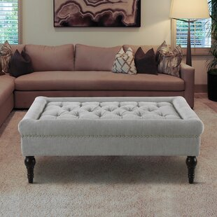 Darby Home Co Malani Tufted Cocktail Ottoman