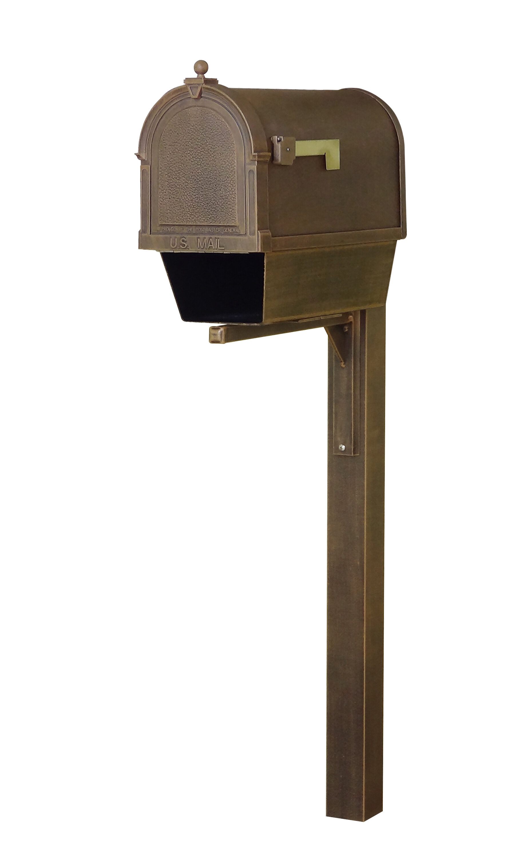 Special Lite Products Berkshire Curbside Locking Post Mounted Mailbox Wayfair