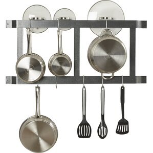 Straight Bar Wall Mounted Pot Rack
