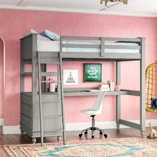 King Size Loft Bed Wayfair