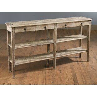 Bloomsbury Market Whittier 4 Drawer Console Table