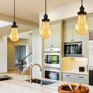 Rhoda 1-Light Bulb Pendant by Williston Forge