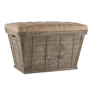 Wood Storage Bench by Aidan Gray