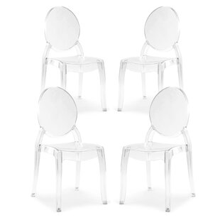Moro Dining Chair (Set of 4) Everly Quinn
