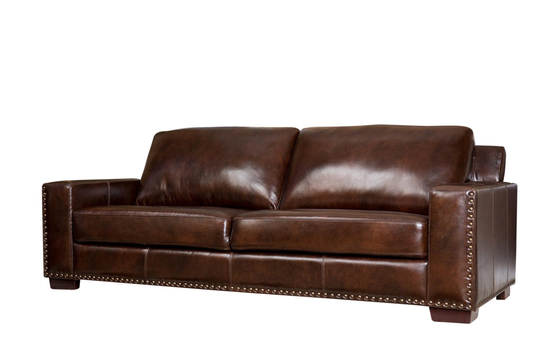 Lapidge Leather Sofa