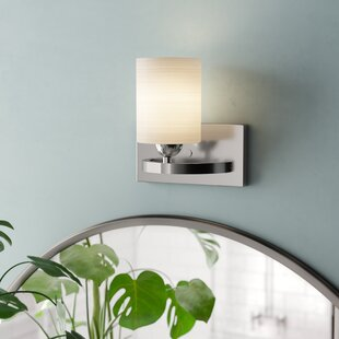 Cusack 1-Light Bath Sconce by Ebern Designs