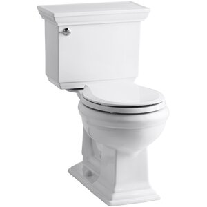 Memoirs Stately Comfort Height 1.28 GPF Round Two-Piece Toilet