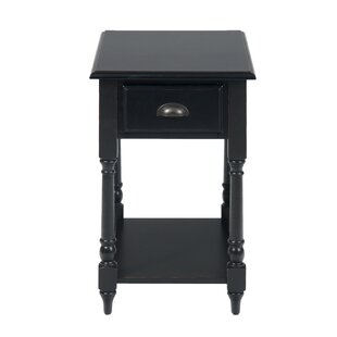 Merlyn Traditional Chairside End Table by Charlton Home