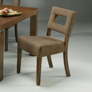 Jakarta Dining Chair with Passion Suede Earth Fabric by Impacterra
