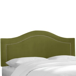 Coupon Alaraph Velvet Inset Nail Button Upholstered Panel Headboard by Willa Arlo Interiors