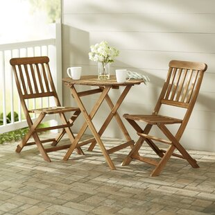 Beachcrest Home Bucksport 3 Piece Bistro Set