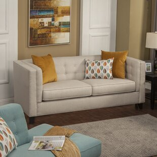 Brayden Studio Pesce Contemporary Flared Arm Sofa