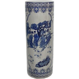 World Menagerie Christien Porcelain Umbrella Stand