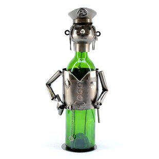 Policeman 1 Bottle Tabletop Wine Rack by ..