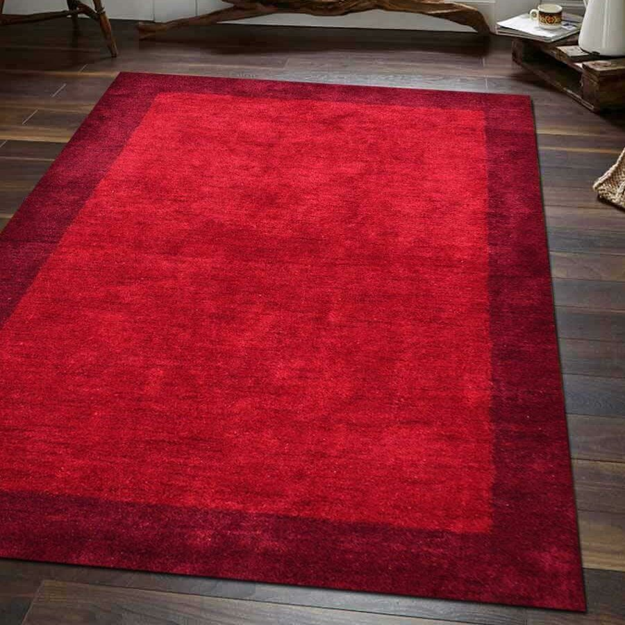 Union Rustic Paisleigh Hand Knotted Silk Red Area Rug Wayfair