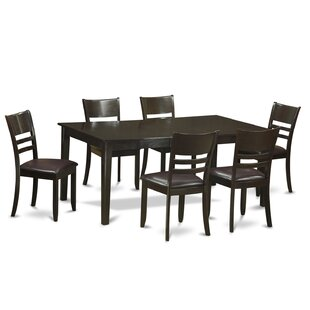 Henley 7 Piece Dining Set Wooden Importers