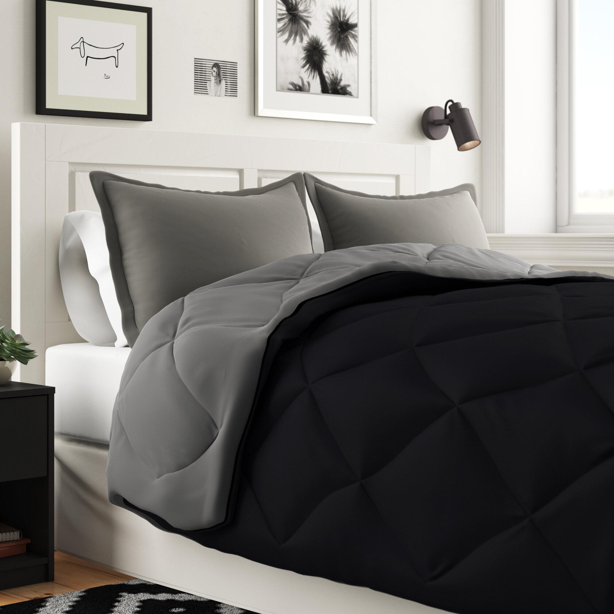 Boho Bloom Down Alternative 3-piece Ultra Plush Reversible Comforter Set