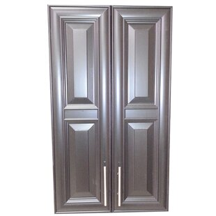 Overton 21 W x 47 H Recessed Cabinet by WG Wood Products