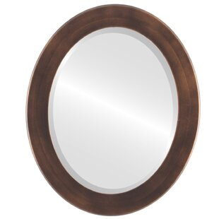 Winston Porter Meansville Framed Oval Accent Mirror