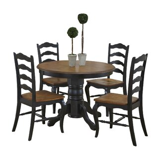 Woodacre 5 Piece Dining Set August Grove