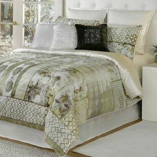 Spectrum Home Textiles Quinn 4 Piece Comforter Set