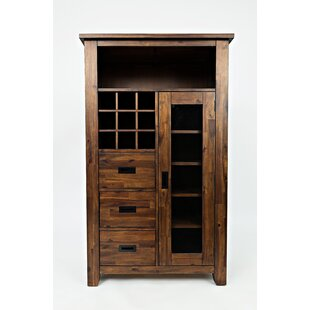 Jon Transitional Bar with Wine Storage by Millwood Pines