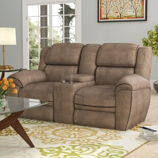 Red Barrel Studio Simmons Genevieve Double Motion Reclining Loveseat