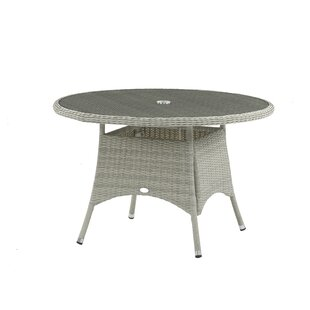 Gannon Rattan Dining Table Image
