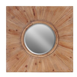 Urban Trends Round Wall Mirror