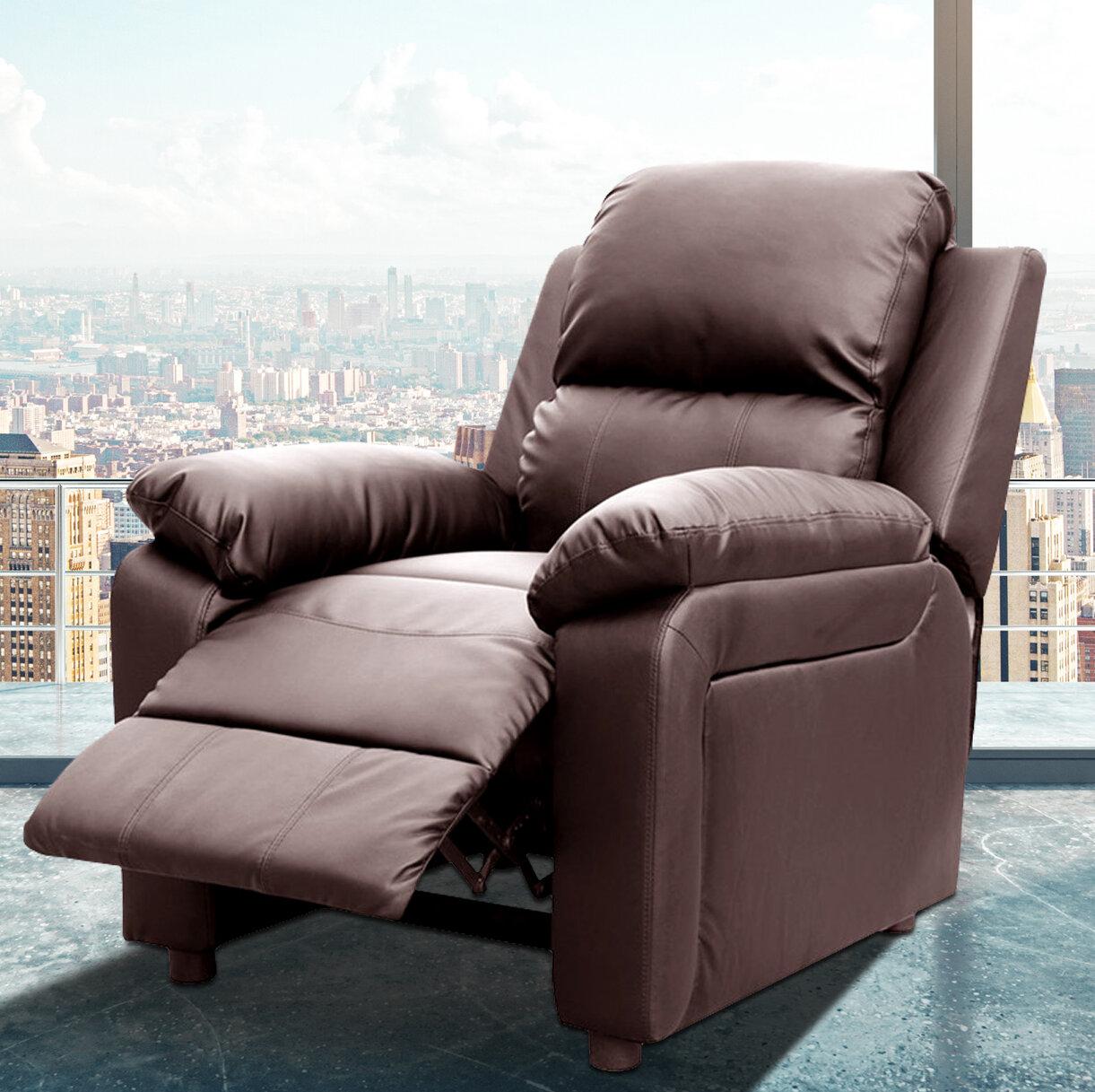 Latitude Run Montana Reclining Heated Massage Chair Reviews Wayfair