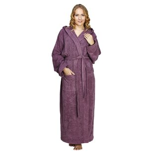 6313556044 Oconee Women s Pacific Style 100% Cotton Terry Cloth Bathrobe