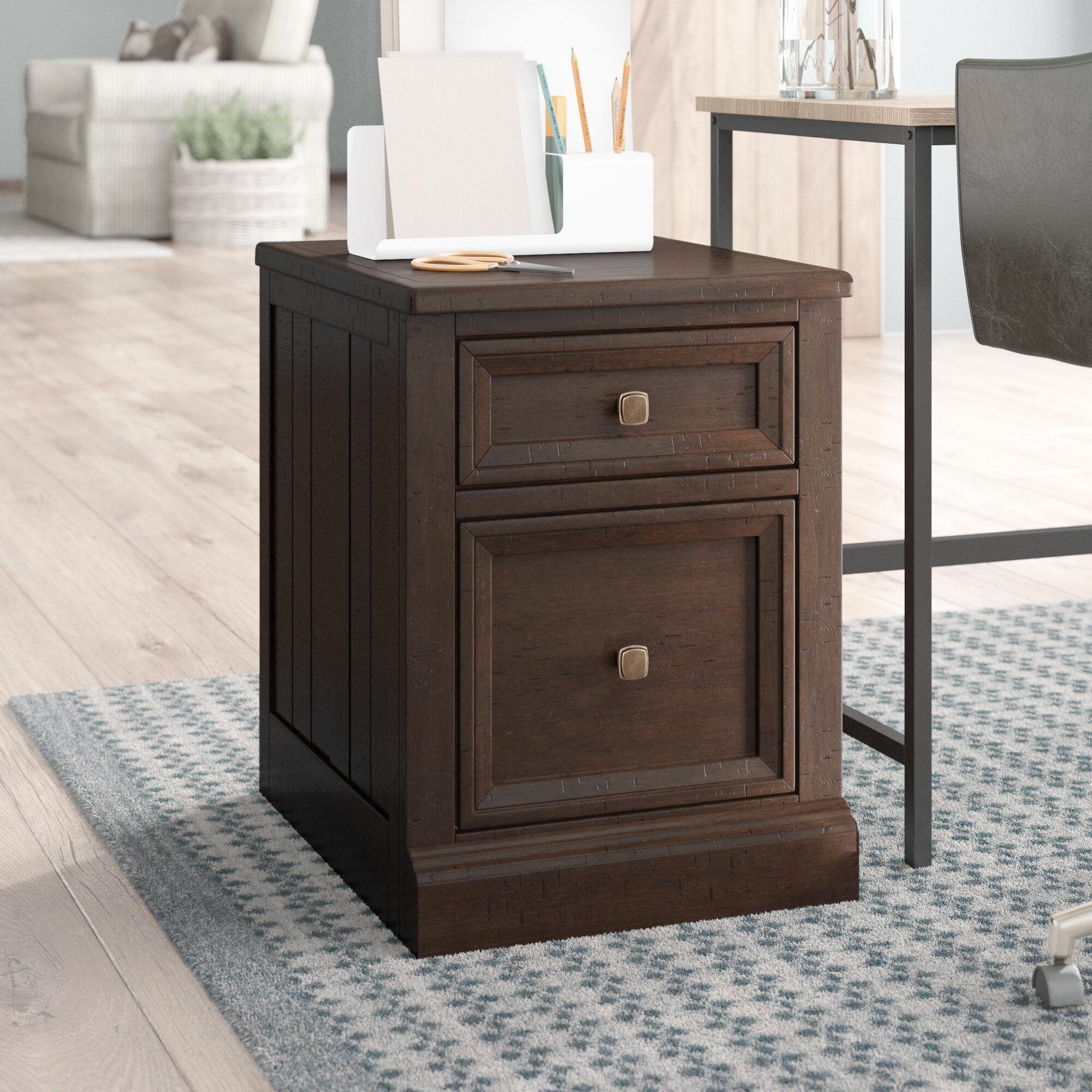 Laurel Foundry Modern Farmhouse Giroflee 2 Drawer File Cabinet Reviews Wayfair