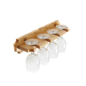 Cinchring Wall Mounted Wine Glass Rack by..