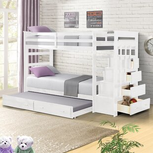 Leyburn Twin over Twin Bunk Bed