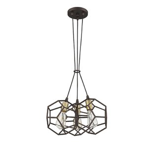 Ove Decors Cinko II 3-Light Geometric Pendant
