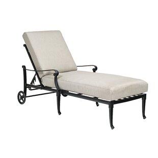 Woodard Wiltshire Adjustable Chaise Lounge