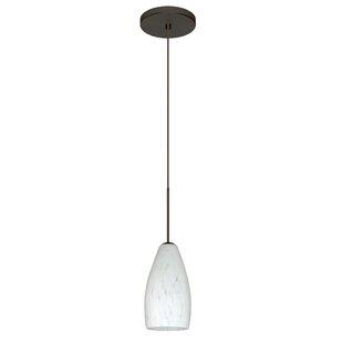 Besa Lighting Karli 1-Light Cone Pendant