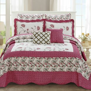 Maribel Traditional 7 Piece Quilt Set by August Grove Design