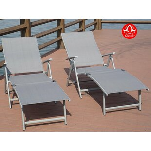 Grey Outdoor Lounge Chairs You Ll Love Wayfair