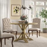 Hammersley Round Solid Wood Dining Table by Birch Lane™ Heritage