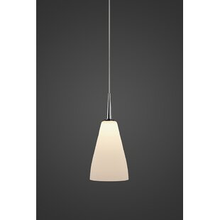 Bruck Lighting Zara 1-Light Cone Pendant