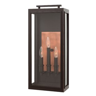 Hinkley Lighting Sutcliffe 3-Light Outdoor Wall Lantern