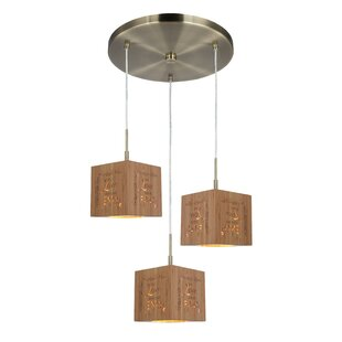 Newsom 3-Light Cluster Pendant..