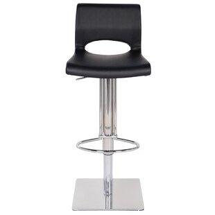 Adjustable Height Swivel Bar Stool by Joseph Allen