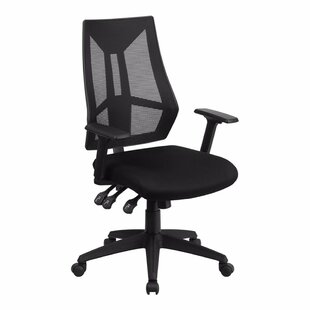 Inexpensive Triple Padded Control Mid-Back Mesh Desk Chair by Symple Stuff