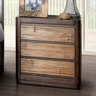 Roland 3 Drawer Nightstand by Bayou Breeze