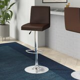 Compton Martin Swivel Adjustable Height Bar Stool by Wade Logan®